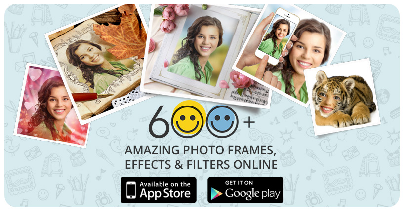 Halloween photo editor: frames, effects & scary face makeup